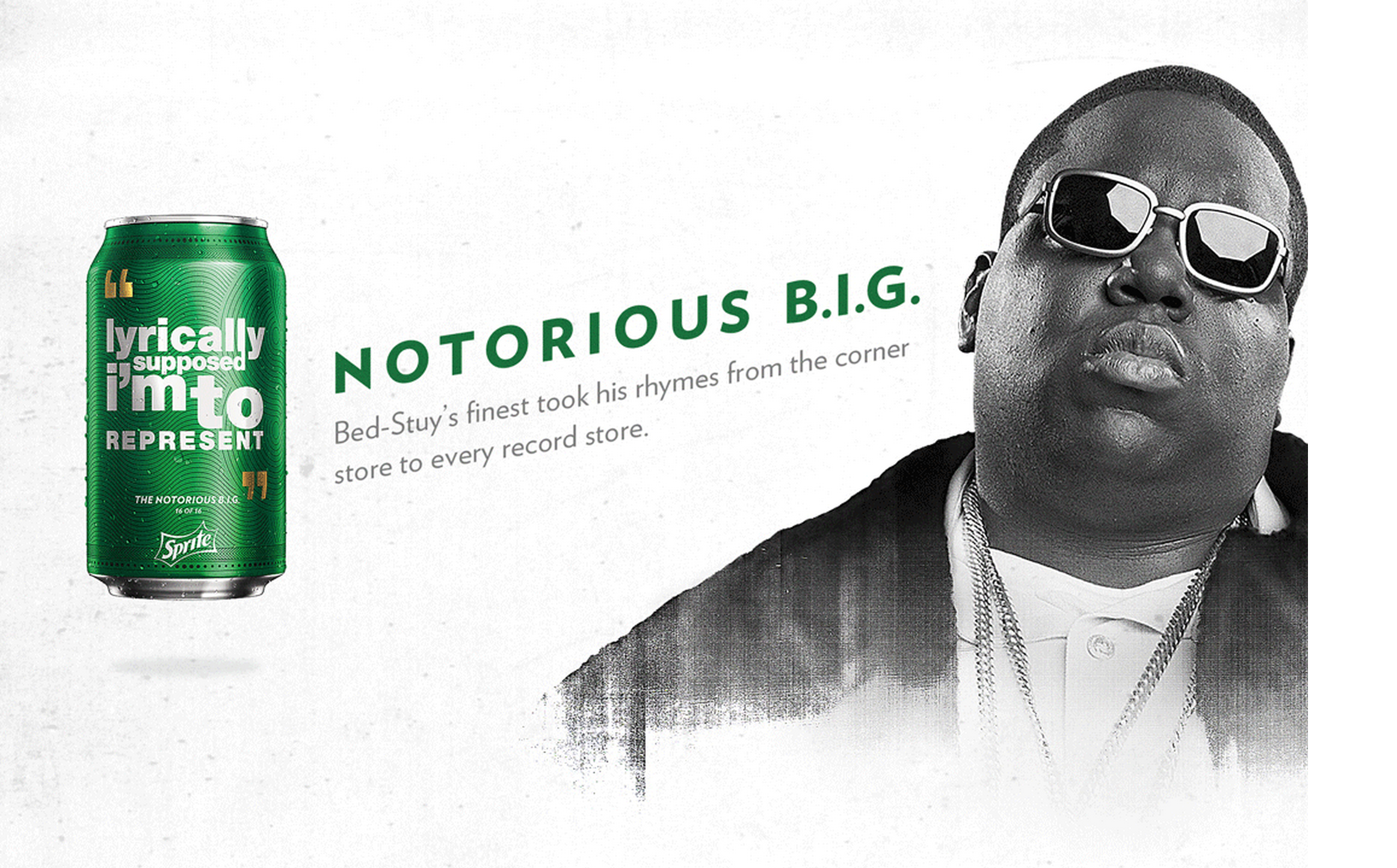 Notorious B.I.G. - Sprite turns 30