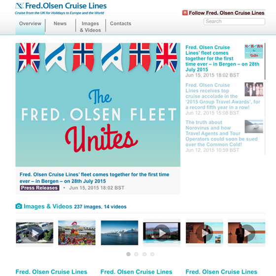 Fred.Olsen Cruise Lines newsroom by Mynewsdesk