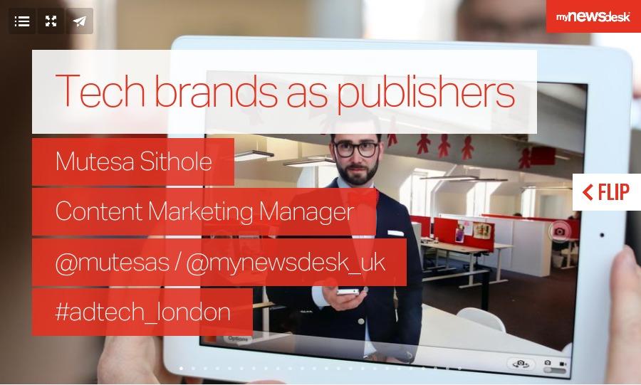Mynewsdesk Ad:Tech London