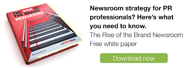 Rise of the Brand Newsroom Download